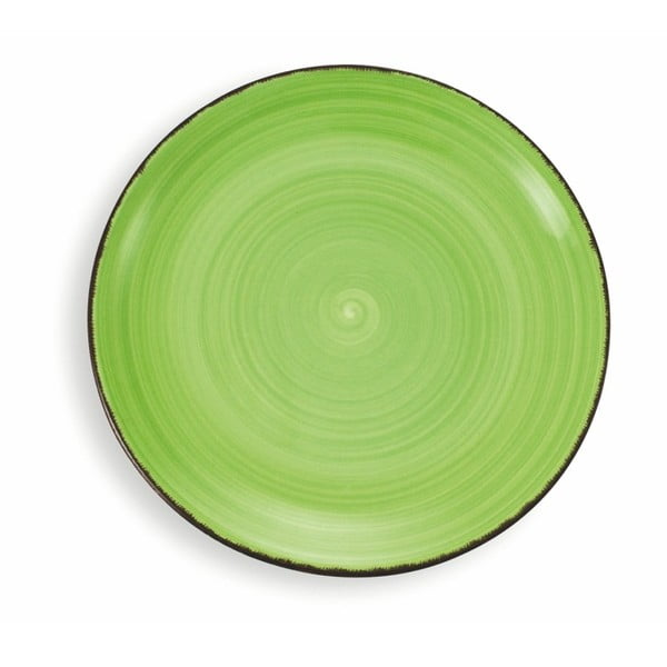 Sada 6 velkých talířů Villa d'Este New Baita Verde