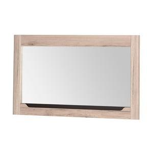 Nástěnné zrcadlo s rámem v dubovém dekoru Szynaka Meble Desjo, 118 x 70 cm
