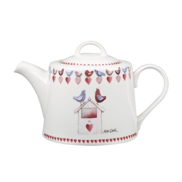 Konvička Mellow Churchill China Lovebirds, 830 ml