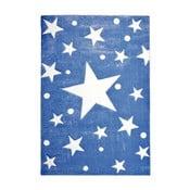 Covor pentru copii Happy Rugs Stars, 120 x 180 cm, albastru închis