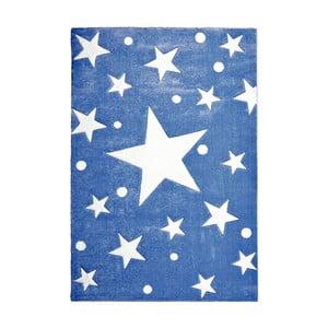 Tmavě modrý dětský koberec Happy Rugs Stars, 120x180cm