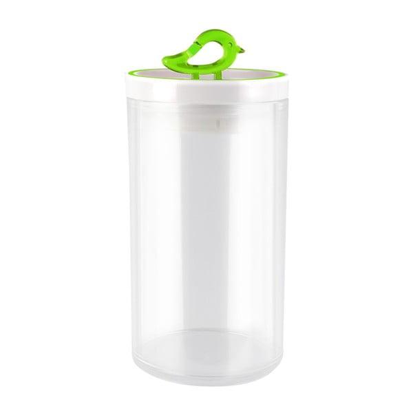 Zelená dóza Vialli Design Livio, 1,2 l
