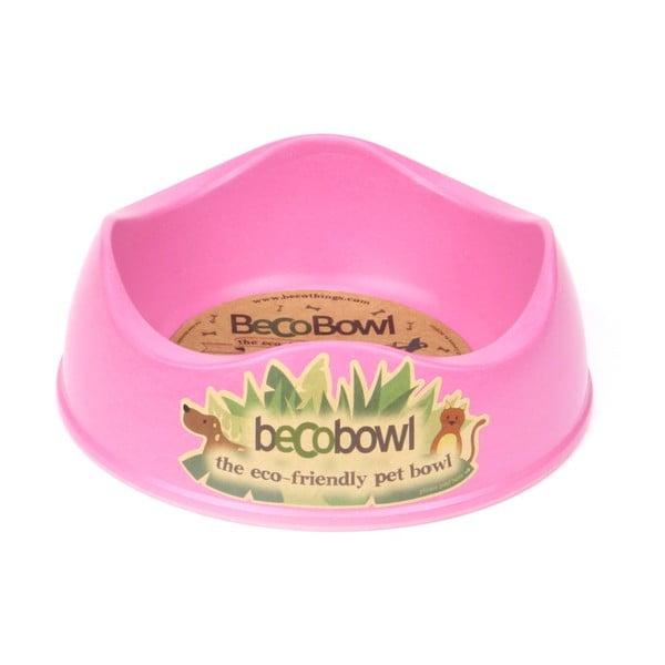 Psí/kočičí miska Beco Bowl 17 cm, růžová