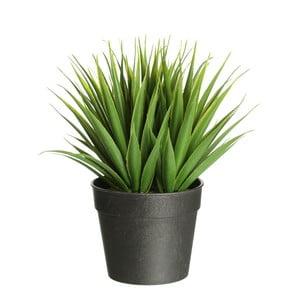 Plantă artificială Ixia Palm, înălțime 19 cm