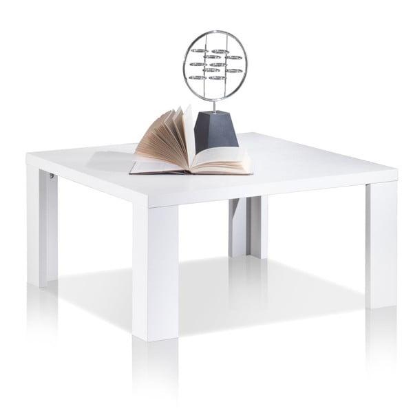 Kávový stolek Coffee Table 70x70cm, bílý