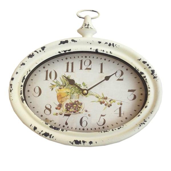 Oválné nástěnné hodiny Bolzonella Olive