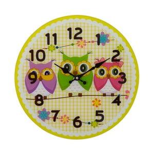 Nástěnné hodiny Mauro Ferretti Owls