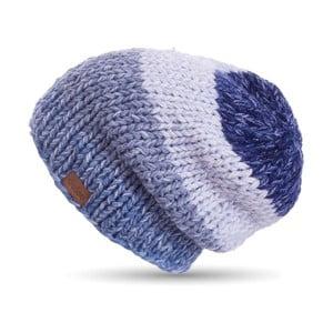 Căciulă tricotată manual DOKE Denim