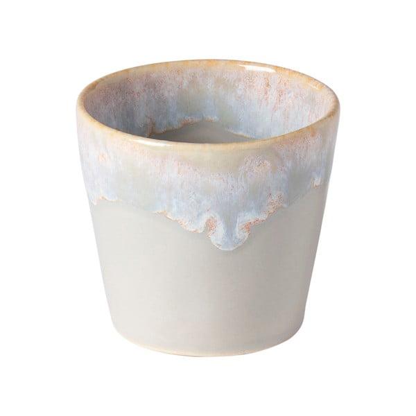 Béžovo-biela kameninová šálka na espresso Costa Nova, 90 ml