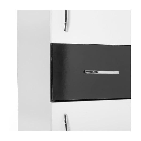 Skříň do koupelny Nergis White/Black