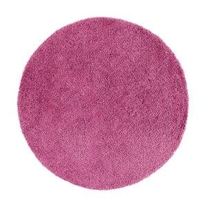 Růžový kulatý koberec Universal Norge, ⌀ 100 cm