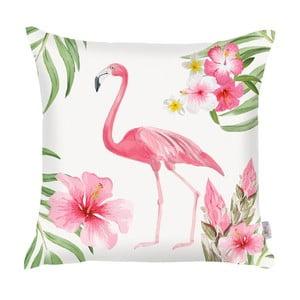 Růžový povlak na polštář Apolena Flamingo, 43x43cm
