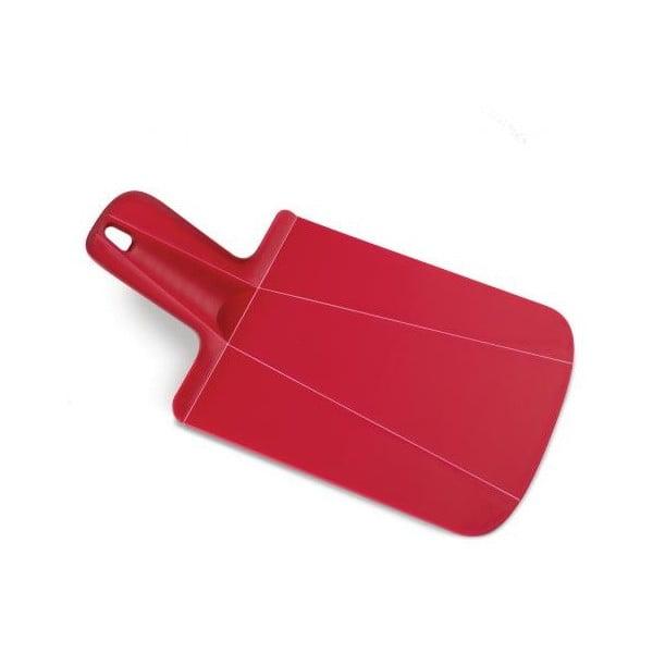 Červené skládací krájecí prkénko Joseph Joseph Chop2Pot Mini