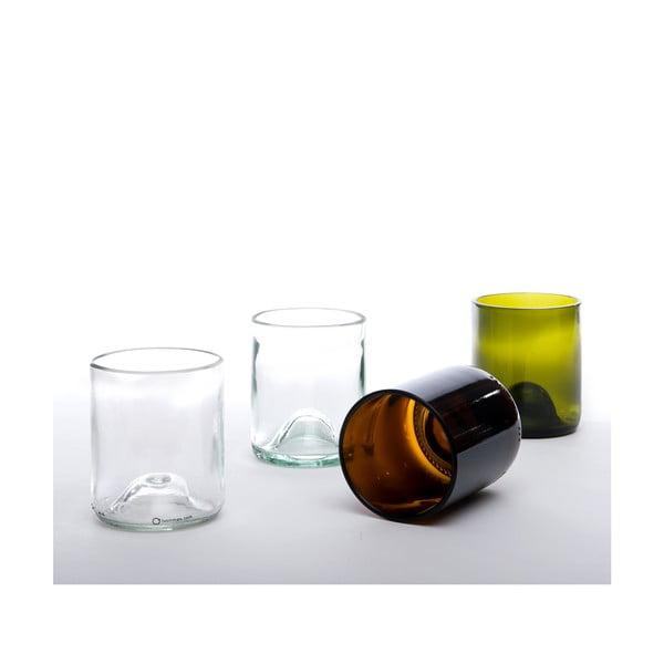 Set čtyř sklenic, barevné
