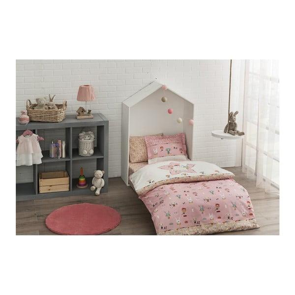 Set bavlnenej detskej obliečky s plachtou Rosie, 100 × 150 cm