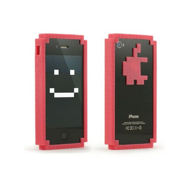 Obal na iPhone 4 8-bit Bumper, růžový