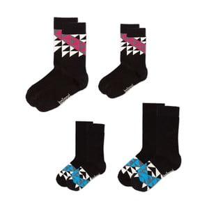 Sada 4 ponožek Love Pack Rail