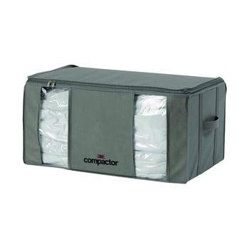 Cutie de depozitare pentru haine Compactor Home Taupe, 138 l