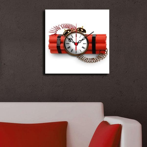 Obrazové hodiny Dynamit