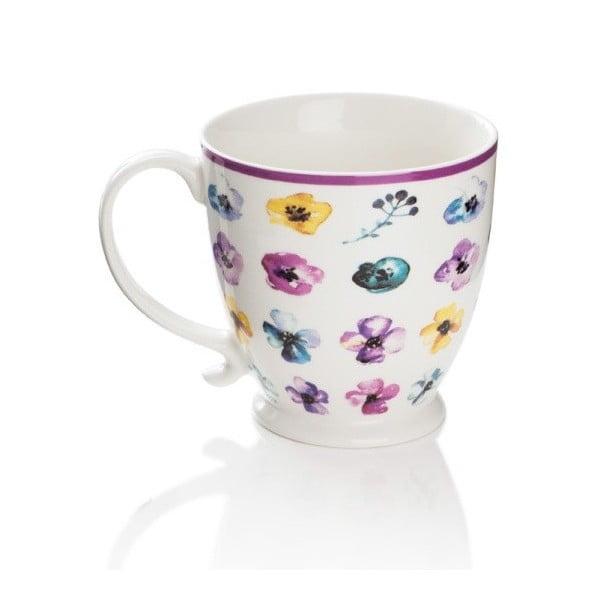 Hrnek z kostního porcelánu Sabichi Hello Spring, 450 ml