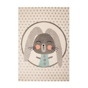 Dětský hnědý koberec Zala Living Rabbit,120x170cm
