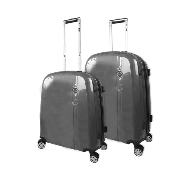 Set 2 cestovních kufrů Victorio Antracita