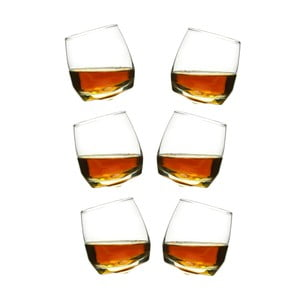 Set 6 pahare whisky Sagaform, 200 ml