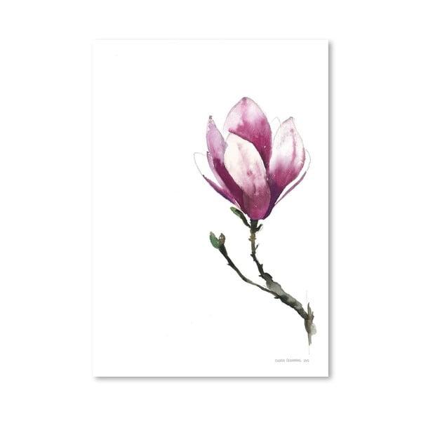 Plakát Americanflat Magnolia II by Claudia Libenberg,30x42cm