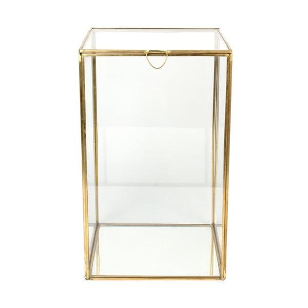 Skleněná vitrínka ComingB Miroir, 18x18 cm