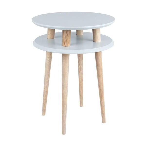 Odkládací stolek UFO 61x45 cm, šedý