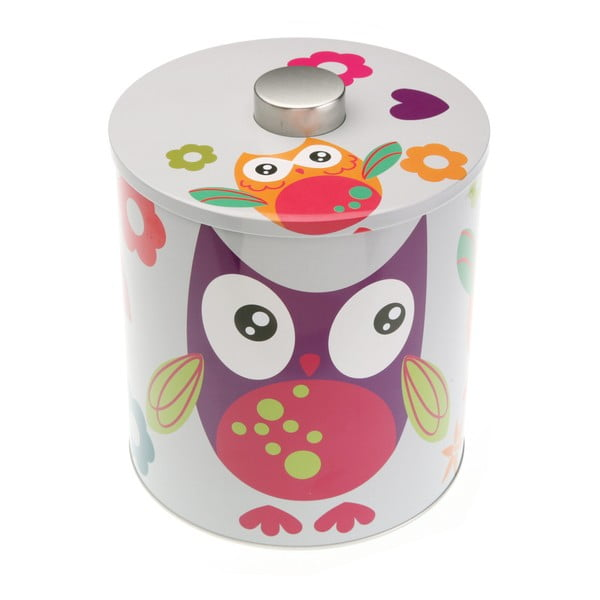 Recipient colorat Versa Buho Owl, ⌀ 17 cm
