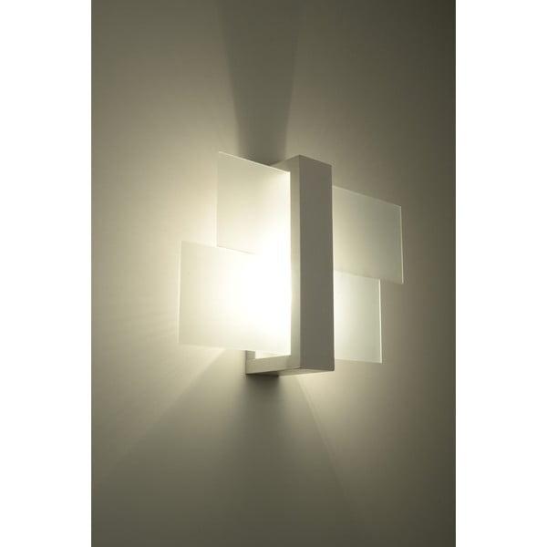 Bílé nástěnné světlo Nice Lamps Leda