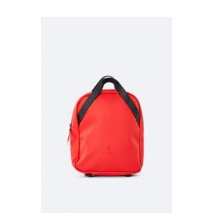 Červený batoh s vysokou voděodolností Rains Go