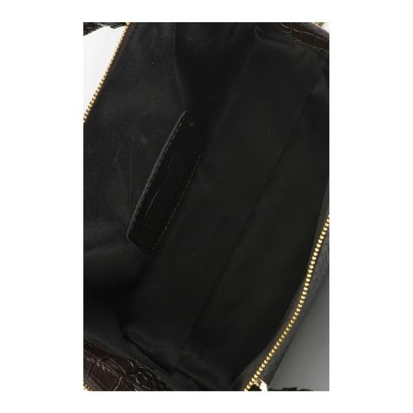 Hnědá kožená kabelka Lisa Minardi Luciano