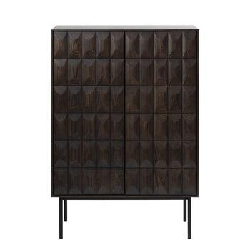 Comodă Unique Furniture Latina, negru