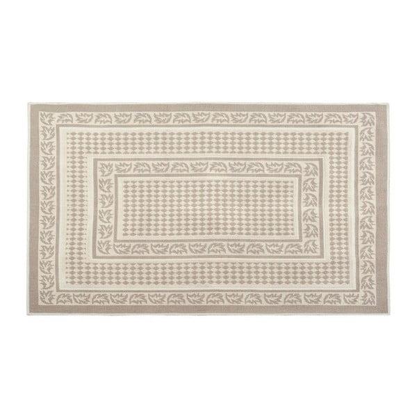 Bavlněný koberec Eno 160x230 cm, krémový