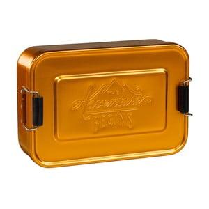 Cutie pentru gustare Gold Tin
