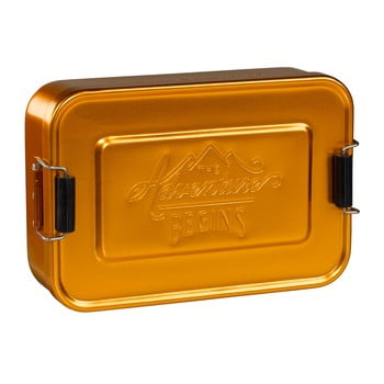 Cutie pentru gustare Gentlemen's Hardware Gold Tin de la Gentlemen's Hardware