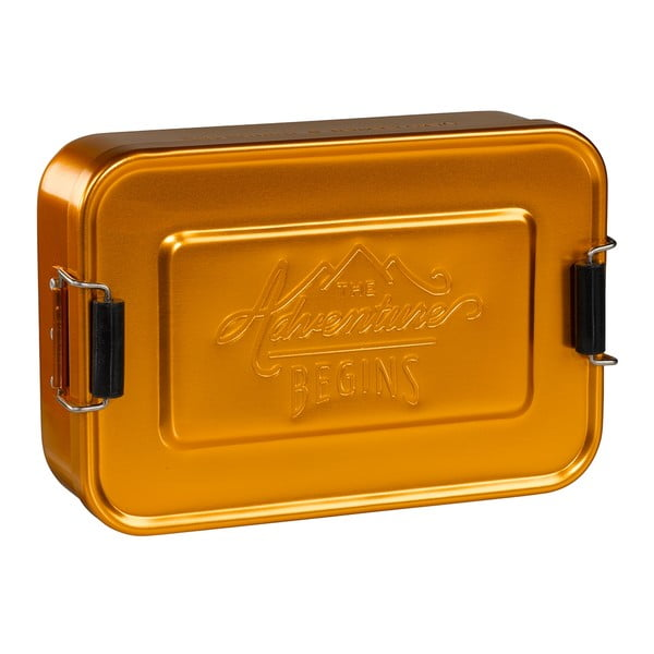 Box na svačinu Gentlemen's Hardware Gold Tin