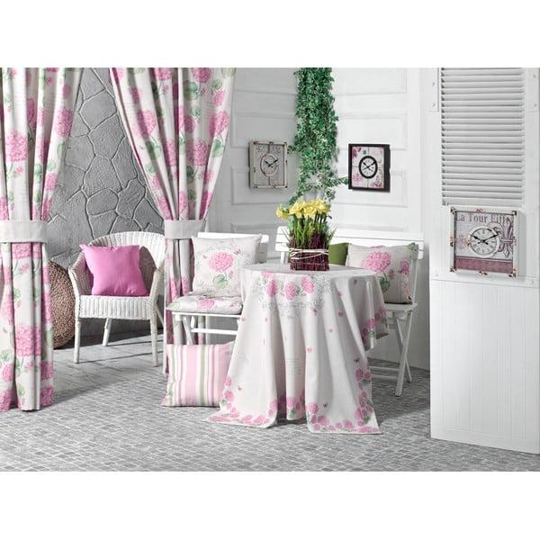 Față de pernă Pink Hortensia