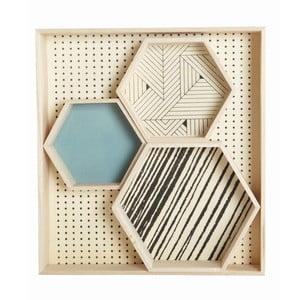 Organizér Hexagonal Veneer