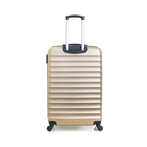 Cestovní kufr ve zlaté barvě na kolečkách Hero Meropi, 60 l