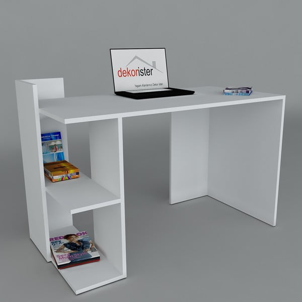 Pracovní stůl Arrival White, 60x120x73,8 cm
