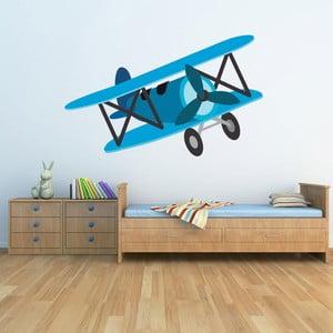 Samolepka na stěnu Vintage Plane