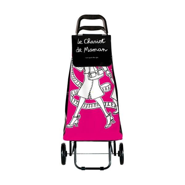 Nákupní taška Maman, pink