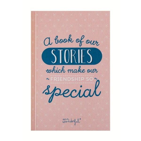 Dárková kniha pro přátele Mr. Wonderful A book of our stories