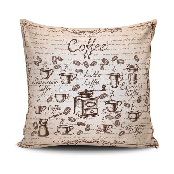 Povlak na polštář s příměsí bavlny Cushion Love Maresso, 45 x 45 cm