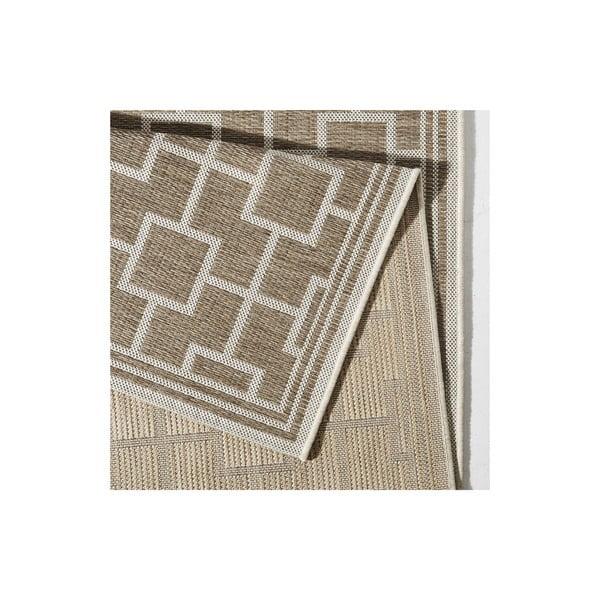 Hnědý koberec vhodný i na ven Botany, 160x230cm