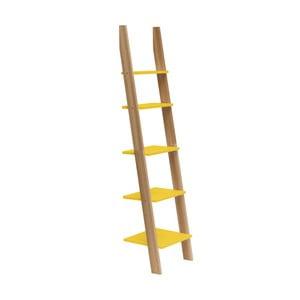 Raft în formă de scară Ragaba ASHME, lățime 45 cm, galben