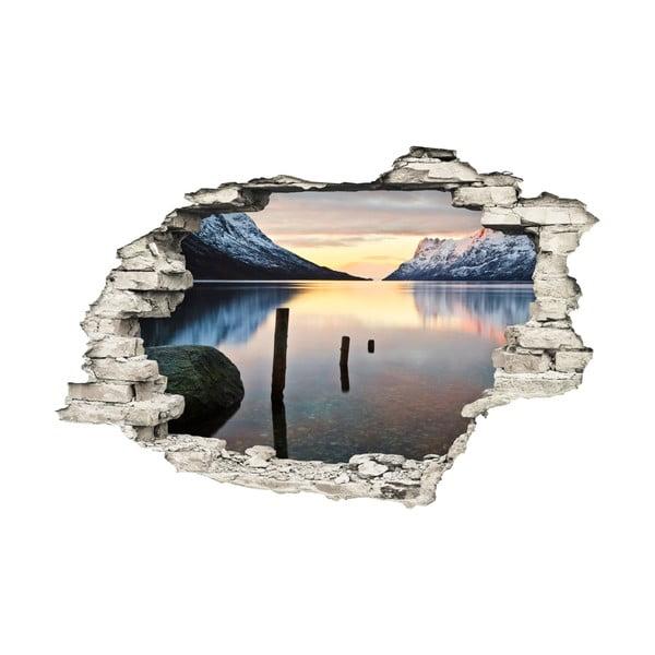 Samolepka Ambiance Landscape Lake, 60×90 cm